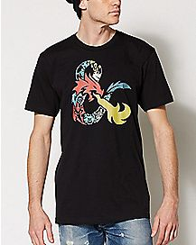 Ampersand Dungeons & Dragons T Shirt