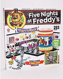 Five Nights at Freddy's Game Area Construction Set - McFarlane Toys
