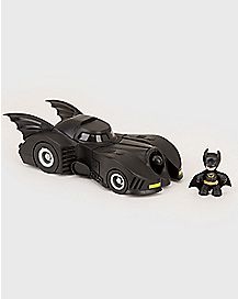 1989 Batman and Batmobile Collectible Figure - DC Comics