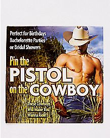 Pin The Pistol On The Cowboy Game