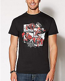 Comic Panels Spider-Man T Shirt - Marvel