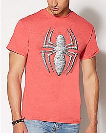 Spider Web Spider-Man T Shirt - Marvel Comics