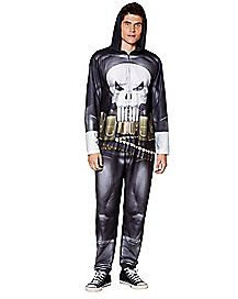 Punisher Pajama Costume - Marvel