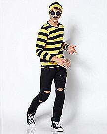 Adult Odlaw Costume - Where's Waldo