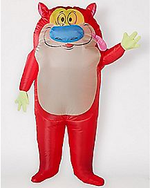 Adult Inflatable Stimpy Costume - Ren and Stimpy
