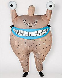 Adult Krum Inflatable Costume - Aaaahh!!! Real Monsters