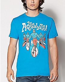 Surfer The Aquabats T Shirt