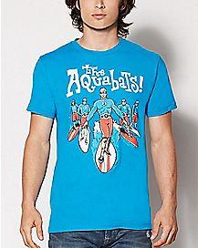 Surfer The Aquabats T Shirt