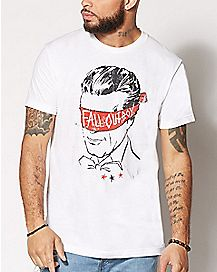 Blindfold Fall Out Boy T Shirt