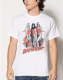 Beach Girls Baywatch T Shirt