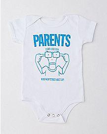 Parents Won't Shut Up Descendents Baby Bodysuit