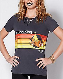 Tie Up Lion King T Shirt - Disney