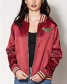 Wonder Woman Bomber Jacket - DC Comics