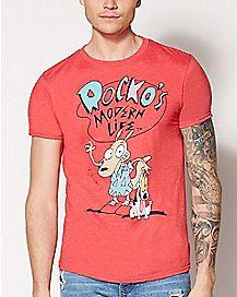 Rocko's Modern Life T Shirt - Nickelodeon
