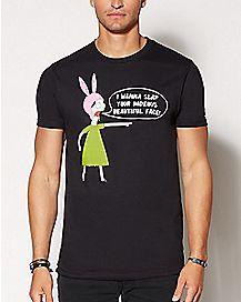 I Wanna Slap Your Face Louise Belcher T Shirt - Bob's Burgers