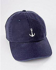 Navy Anchor Dad Hat