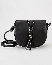 Studded Detail Crossbody Bag