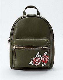 Olive Rose Mini Backpack