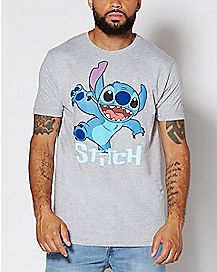 Action Shot Stitch T Shirt - Disney