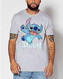 Action Shot Stitch T Shirt - Disney