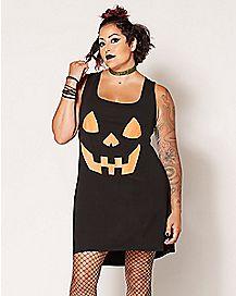 Plus Size Pumpkin Dress