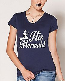 His Mermaid T Shirt