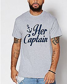Her Captain T Shirt