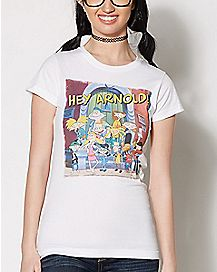 Hey Arnold And Friends T Shirt