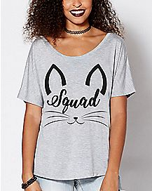 Cat Squad T Shirt