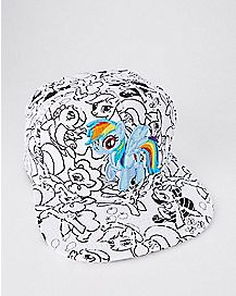 Rainbow Dash My Little Pony Snapback Hat