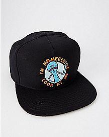 Mr. Meeseeks Rick and Morty Snapback Hat