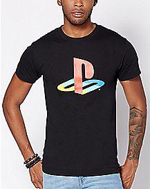 Logo Playstation T Shirt - Sony