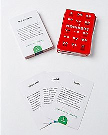 Monikers Card Game