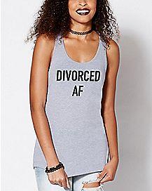 Divorced AF Tank Top