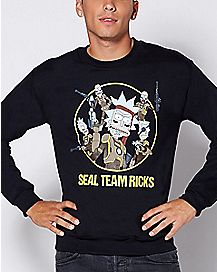 Seal Team Ricks Sweatshirt - Rick and Morty