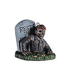 Zombie Christmas Ornament - Bobbie Weiner Series
