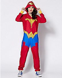 Wonder Woman Pajama Costume - DC Comics
