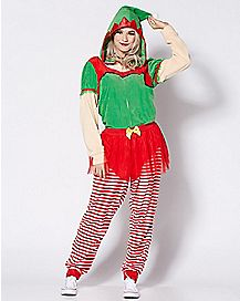 Santa's Elf Pajama Costume