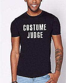 Costume Judge T Shirt