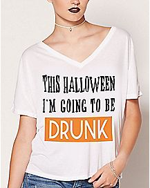 This Halloween I'm Going To Be Drunk T Shirt