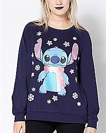 Light Up Stitch Ugly Christmas Sweater - Lilo & Stitch