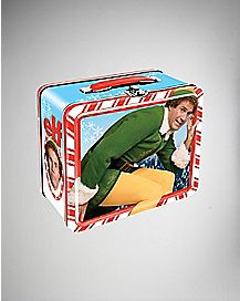 Elf Metal Lunch Box
