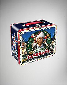 Merry Clarkmas Metal Lunch Box - National Lampoon's Christmas Vacation