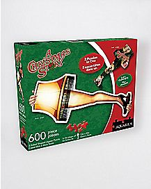 2-in-1 Leg Lamp Jigsaw Puzzle - A Christmas Story