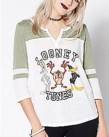 Looney Tunes Raglan T Shirt