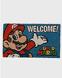 Welcome Mario Doormat - Nintendo