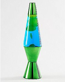 Blue And Green Lava Lamp - 14.5 Inch