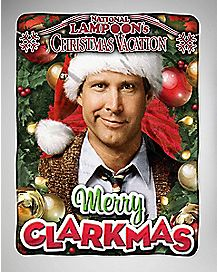 Merry Clarkmas Fleece Blanket - National Lampoon's Christmas Vacation