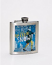 Do Not Eat Yellow Snow Flask 8 oz. - Elf