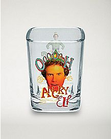 Angry Elf Shot Glass 2.25 oz. - Elf
